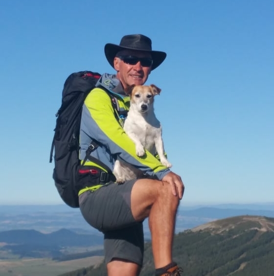 Thierry Michel, Accompagnateur en Montagne - Moniteur VTT - Guide Nautre Randonnée