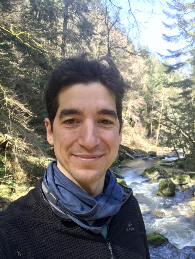 Moï Boris, Stagiaire Accompagnateur en Montagne - Guide Nature Randonnée